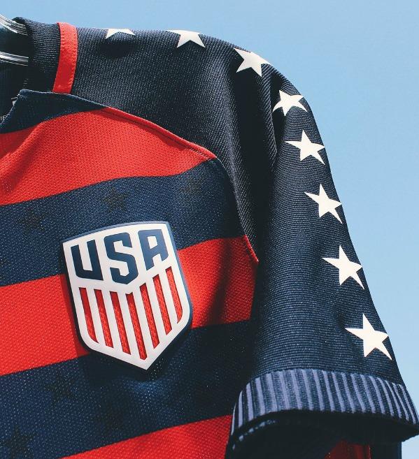 USA Gold Cup Top 2017 Closeup