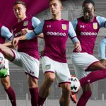 New AVFC Kits 2017-2018 | Aston Villa Under Armour Home & Away Shirts 17-18