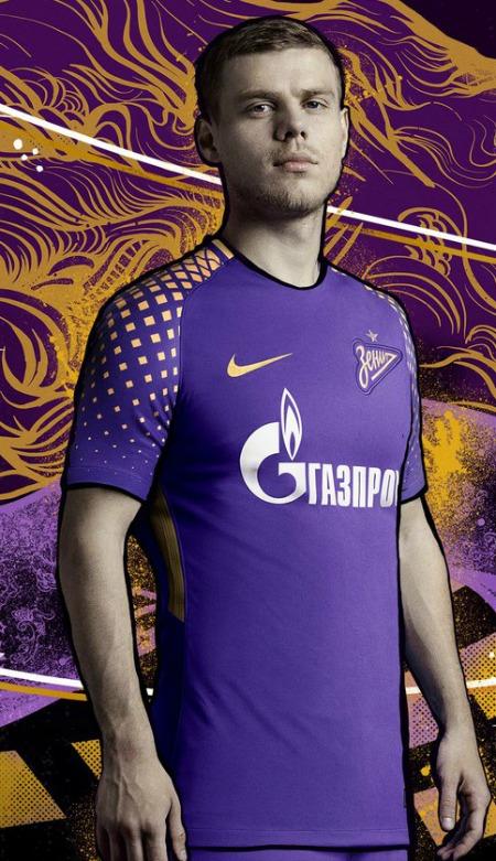 New Fc Zenit Jerseys Tujuh Delapan Nike Zenit Saint Petersburg Home Third Kits Tujuh Delapan Football