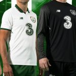New Ireland Away Football Kit 2017-18 | White Irish Alternate Soccer Jersey 17-18 by NB