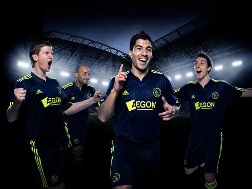 New Ajax Away Jersey 2010