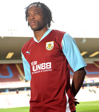 New Burnley Home Shirt