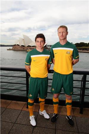 Socceroos Home Kit 2010