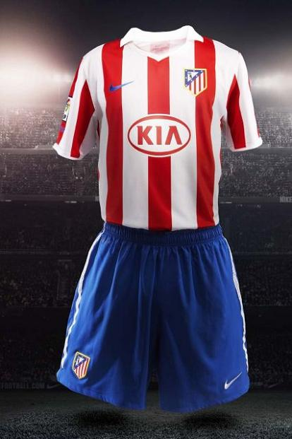 Atletico Madrid New Home Kit