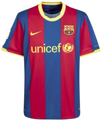 Barca Home Strip 10-11