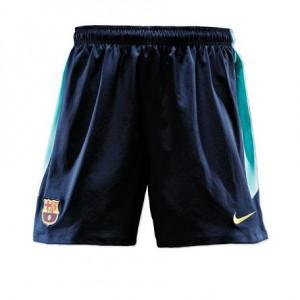 Barca away Shorts 10-11