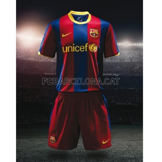 77173e2a5 New Barcelona Jersey 10 11 Nike