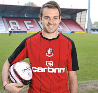 Bournemouth Football Kit 2010