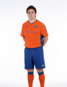 New Linfield Away Strip 10-11