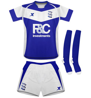 New Birmingham Home Kit 2010
