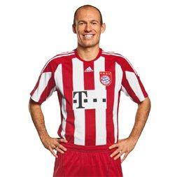 Robben Bayern Munich jersey