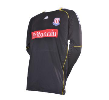 a122847efc1 Stoke City 10/11 Home Goalkeeper Kit | Football Kit News