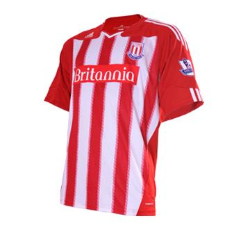 Stoke Home Shirt 2010