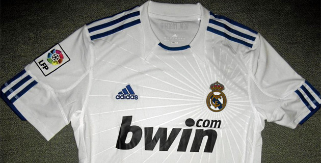 new Real Madrid jersey 10-11
