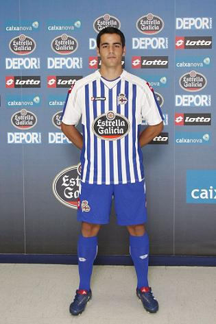Deportivo Home Shirt 10-11