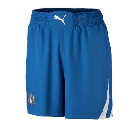 NUFC Blue Away Shorts Puma