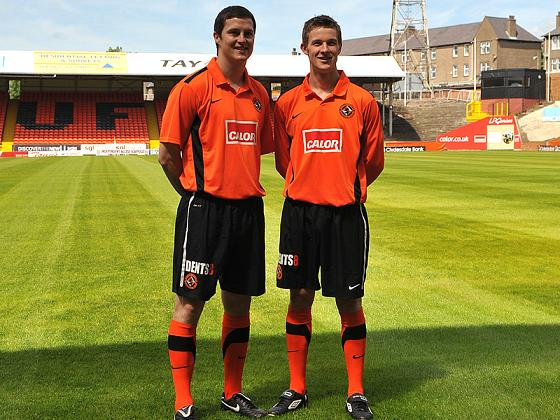 New Dundee United Shirt 10-11