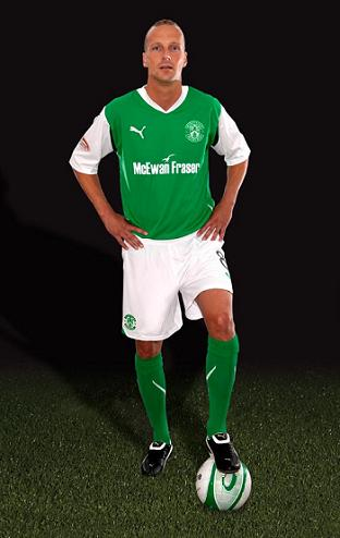 New Hibs Home Kit Puma