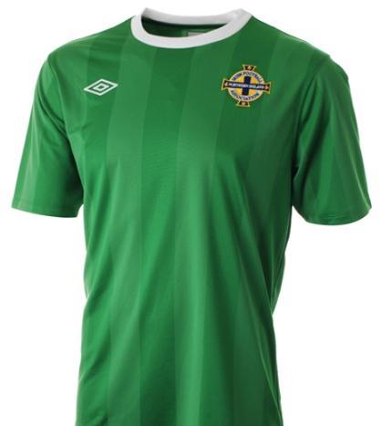 Northern Ireland new shirt