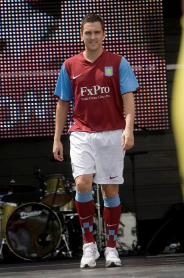 Aston Villa Home Strip