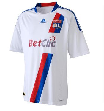 Olympique Lyon Jersey 10-11 Home  077970401