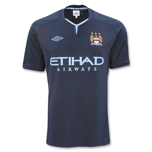 Man City Away Kit 10-11