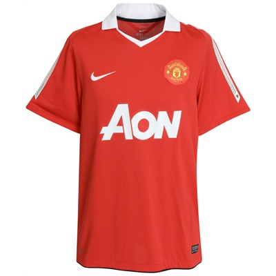 New Manchester United Jersey 2010