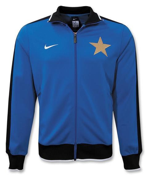 Nike N98 Inter Milan Track Jacket Football Kit News