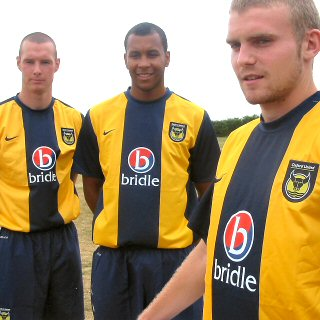 Oxford United Home Kit 2010