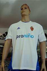Real Zaragoza 2010 Jersey Home