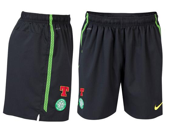 Celtic Away Shorts 2010