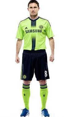 Chelsea Third Kit 10-11