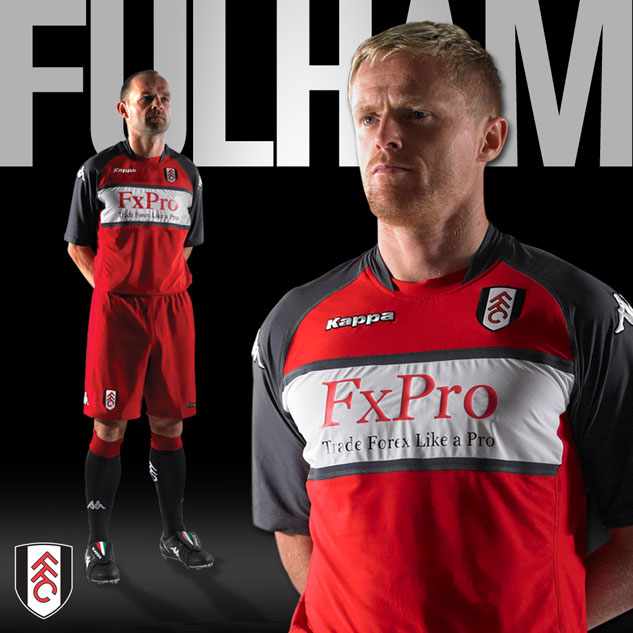 Fulham Away Kit 10-11