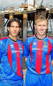 Inverness Caledonian Thistle Home Strip 10-11
