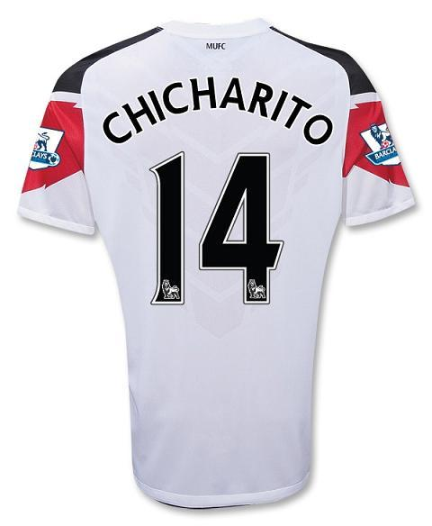 Chicharito Away Shirt Man Utd