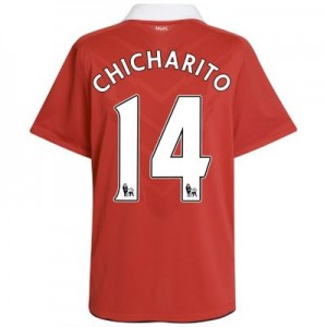 Chicharito Man United jersey