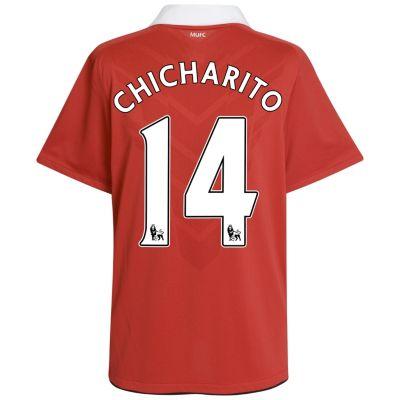 Chicharito Man United jersey