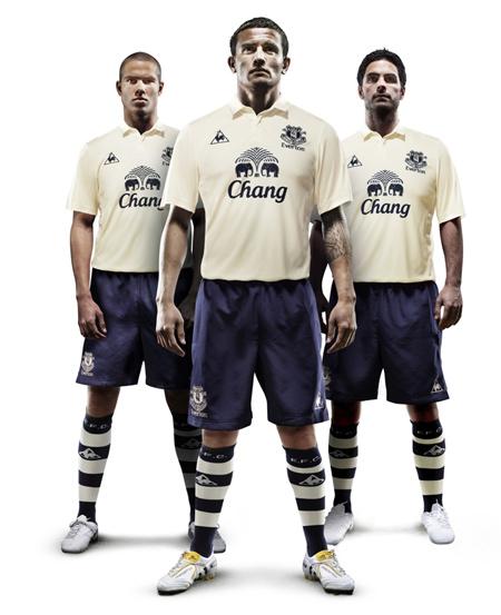 Everton Third Kit 10 11
