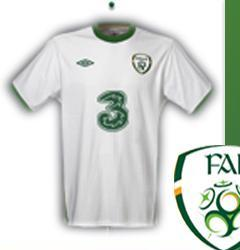 Ireland Away Jersey 2010