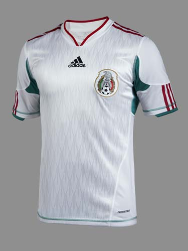 d7d5887a4 White Mexico Jersey 2010 Special Edition Bicentenario | Football Kit ...