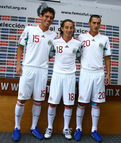 Mexico Special Edition White Jersey