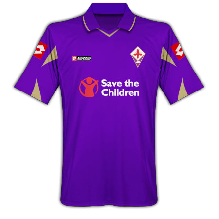 Fiorentina Home Shirt Lotto 10-11
