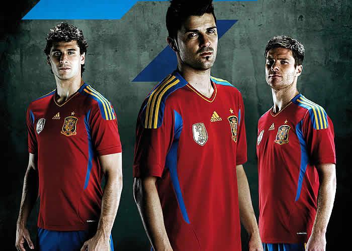conferencia Gracia Marty Fielding  Adidas New Spain Kit 11-12 Home | Football Kit News