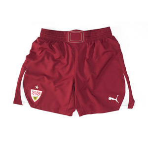 Stuttgart Away Shorts Maroon