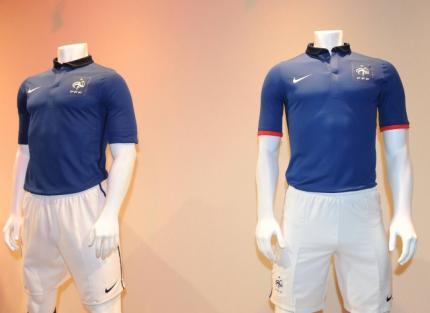 New France Nike Soccer Jersey