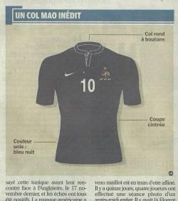 Nike France Jersey 2011 Design