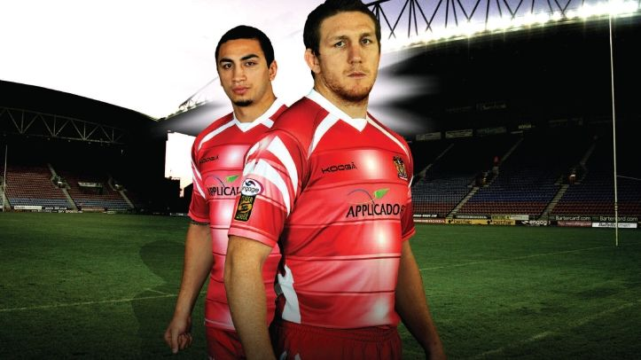 Wigan Warriors 2011 Home Kit