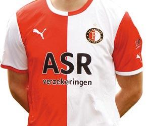 Feyenoord Home Shirt 11-12