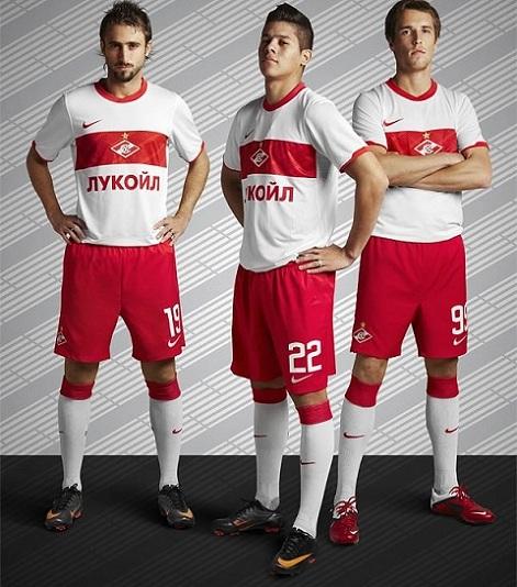 Spartak Moscow Shirt 2011 Nike