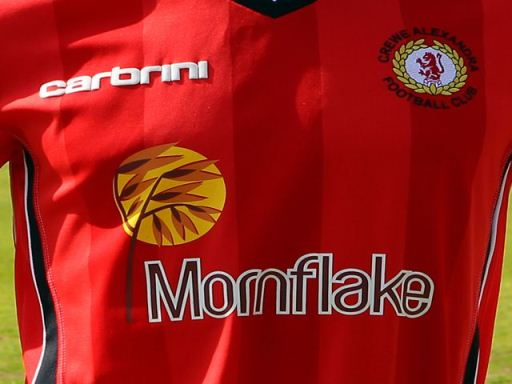Crewe Alexandra Home Shirt 2011